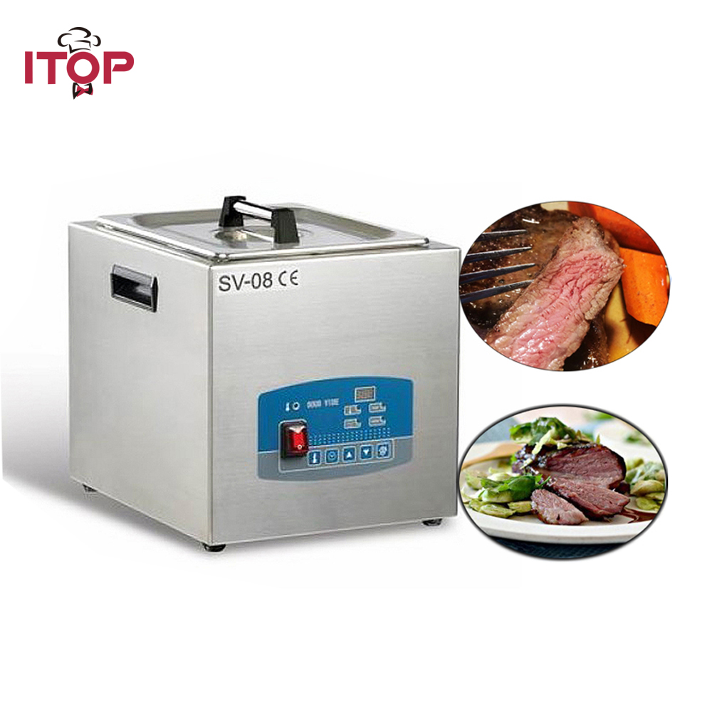 ITOP New High Quality SousVide Circulator Precision Thermal Immersion time constant temp 304S itop 110v 220v sous vide circulator precision thermal immersion time temp control chef cooker