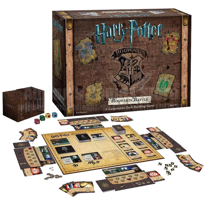 Harry Potter Hogwarts Battle Game Set Harry Potter Cards Game Collection Witchcraft Cards Board Game