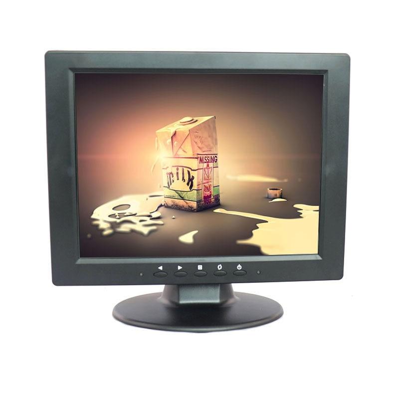 10.4-inch POS LCD Display with VGA Input, 800 x 600 cheap small lcd monitor desktop monitor with AV/BNC/VGA/HDMI/USB interface aputure digital 7inch lcd field video monitor v screen vs 1 finehd field monitor accepts hdmi av for dslr