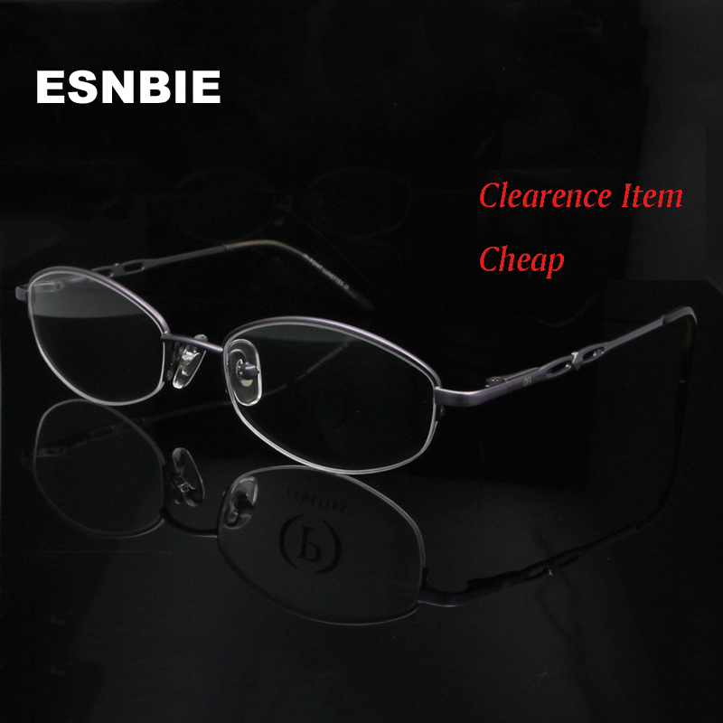 NEW 2014 Classic style in Purple Color Metal Oval Shape Nerd  Clear Lens Glasses