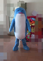 2017 high quality export high quality red mouth dolphin mascot costumes Party special clothing