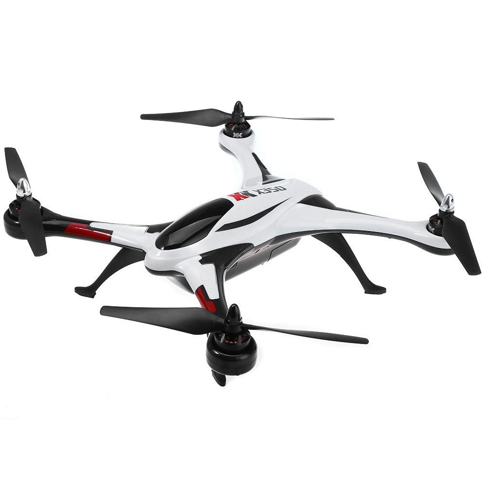 XK X350 RC Drones Air Dancer 4CH 2.4GHz 6-Axis Gyro 3D / 6G Mode RC Quadcopter Aircraft RTF Brushless Motor LED light Drone Dron rc drone hd camera 2 4g 6 axis gyro remote control s9 s8 aircraft helicopter drones white black dron vs xs809w