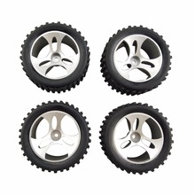 4PCS Wltoys A959 RC Car Spare Parts Wheels a959-01 Accessories cheap BLLRC Plastic Assembly Category Tires Vehicles Remote Control Toys Cars Assemblage
