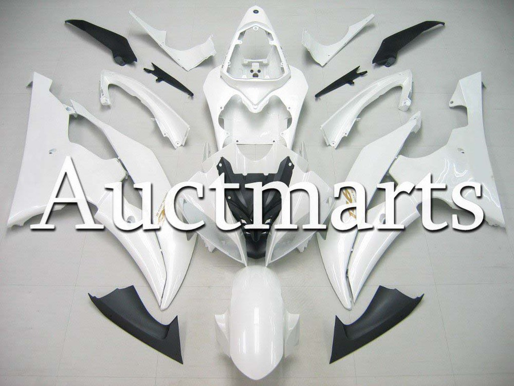 For Yamaha YZFR6 08-14 2009 2010 2011 2012 YZF 600 R6 2008 2013 2014 YZF600R 08-14 inject ABS Plastic motorcycle Fairing Kit 24 unpainted abs plastic front fender fit for yamaha 2008 2012 yzf r6 injection mould motorcycle fairing frame cover part