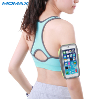 Momax Unisex Waterproof Sport Arm Band Case For IPhone Samsung Phone Under 5 5 Inch Running