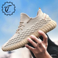 CatriCa 2019 Beige White Knit Summer Breathable Hot Sale Fashion Luxury High Quality Casual Men Shoes Designer Sneakers L A 55