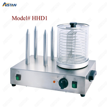 HHD1/HHD2 stainless steel electric commercial hot dog machine of catering equipment