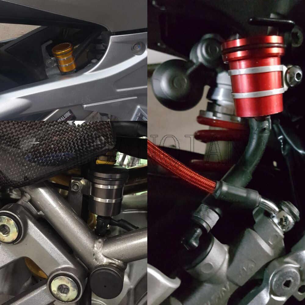 ใหม่รถจักรยานยนต์ CNC อลูมิเนียมรถจักรยานยนต์ด้านหลังเบรคอ่างเก็บน้ำถ้วยสำหรับ HONDA CBR900RR CBR 900RR CBR 900 RR