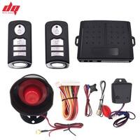 Neue Auto alarm system 12 + 4 Auto Tür Remote Zentrale Steuerung Sperren Keyless Entry System mit Alarm Lautsprecher alarm Indictor