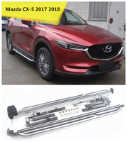 For Mazda CX 5 2017 2018 Running Boards Auto Side Step Bar Pedals High Quality Original Design Nerf Bars