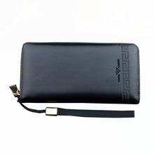 Fashion Men Long Wallet Men PU Leather Multifunctional Male Clutch Wallet Coin Pocket Man Zipper Wallet Multifunctional Purse