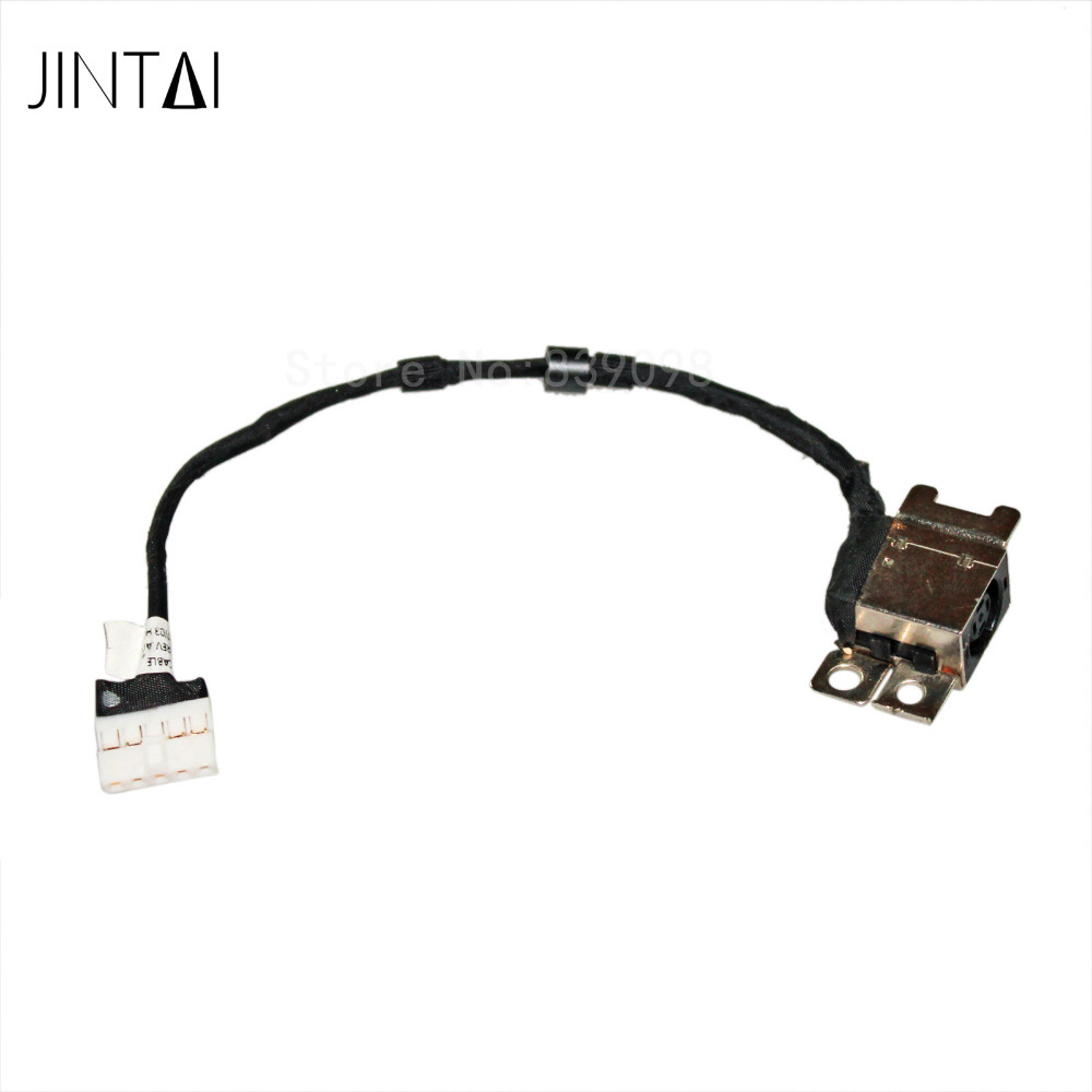 100% NEW JINTAI LAPTOP DC POWER JACK PLUG CABLE SOCKET FOR Dell Latitude 3350 50.4OA05.011 0GFNMP new dc power jack socket connector wire harness for laptop dell inspiron 15 3558 5455 5000 5555 5575 5755 5758