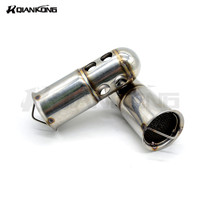 Universal inlet 51mm Exhaust Pipe Motorcycel DB Killer Exhaust Muffler DB Killer Motorbike Silencer Noise Sound Eliminator