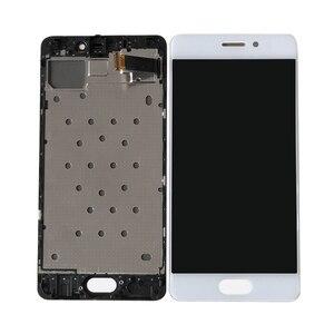 Image 3 - מקורי Axisinternational 5.2 עבור Meizu Pro 7 Pro7 M792H M792Q AMOLED LCD תצוגת מסך + מגע לוח Digitizer עם מסגרת