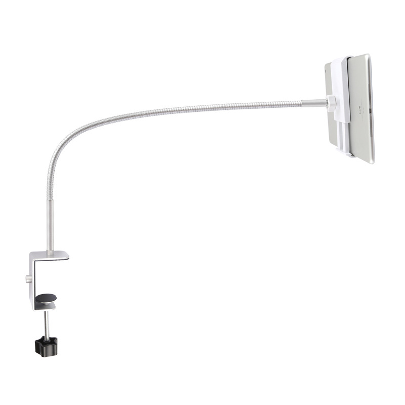 Flexible Strong Long Arm Tablet PC Stand 360 Rotation Metal Lazy Bed Table Bracket 3.5-10.6
