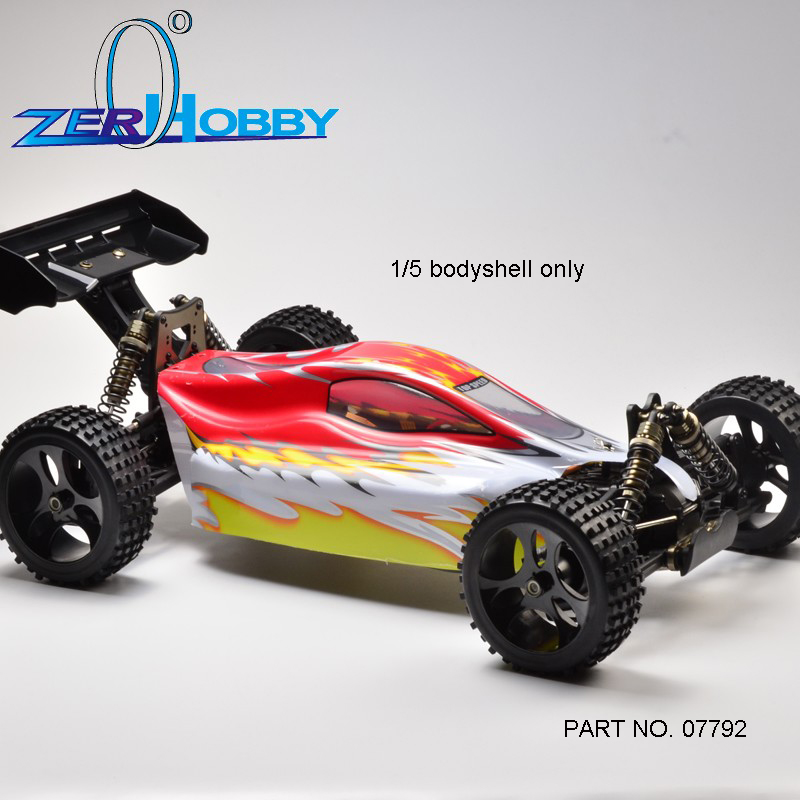 HSP RACING RC CAR SPARE PARTS ACCESSORIES 1/5 SCALE EP OFF ROAD BUGGY CAR BODYSHELL NO. 07792 FOR MODEL 94077