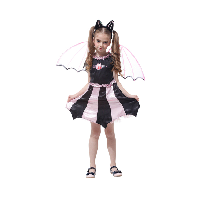 Bat Girl Costume Children Cosplay Dance Dress Cape Cloak Costumes for Kids Little Witch Halloween Lovely  sc 1 st  AliExpress.com : bat girl costume for kids  - Germanpascual.Com