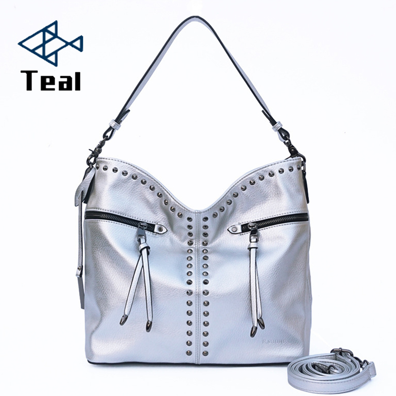 women messenger bags ladies handbags cross body bags tote bag bolsa feminina Rivet England Style Women Solid designer bag women vintage handbags ladies tote cross body shoulder messenger england
