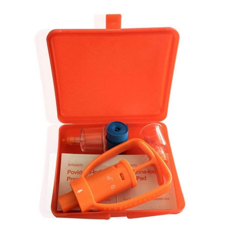 Outdoor Snake Bees Bite Venom Extractor Camping Survivor Venom Extractor Kit Safe First Aid Kit Safety Venom Protector Th