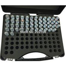0.5.00~ 1,00 мм Шаг 0,01 мм стальной штифтовый Калибр контактный измерительный инструмент, 51 шт./партия