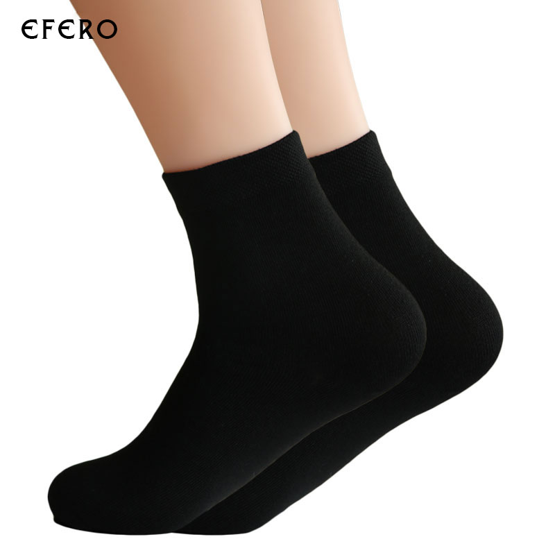 5Pair High Quality Comfortable Men Socks Solid Color Breathable Socks Summer Soft Ankle Invisible Socks For Men Thermal Sock