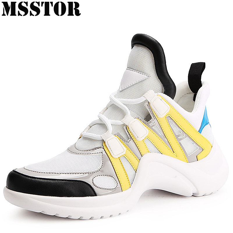 MSSTOR Women Skateboarding Shoes Skate Canvas Shoes Woman Brand Outdoor Athletic Sport Shoes For Women Walking Womens Sneakers msstor 2018 women s running shoes woman brand summer breathable womens sneakers outdoor athletic walking sport shoes for women