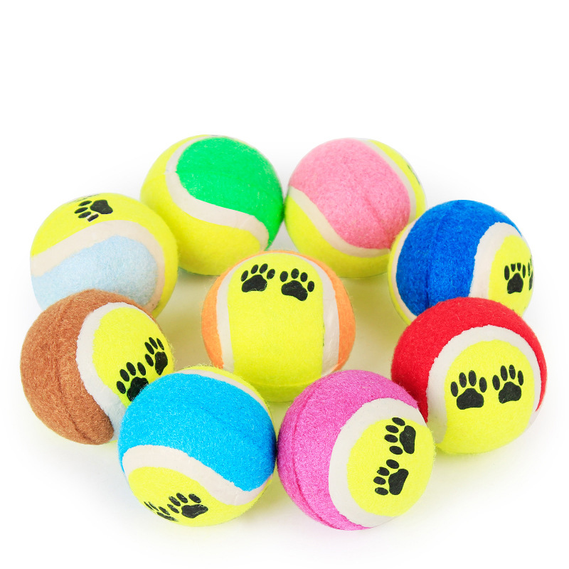 Small Toy Balls : Tennis ball for pet dog chew toy pets small