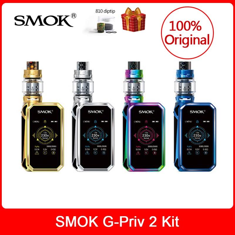 Originale SMOK G-Priv 2 Kit Luxe Edizione 230 W con TFV12 Principe Serbatoio 8 ML Sigaretta Elettronica VS X PRIV/Mag/Stick Principe vape kit