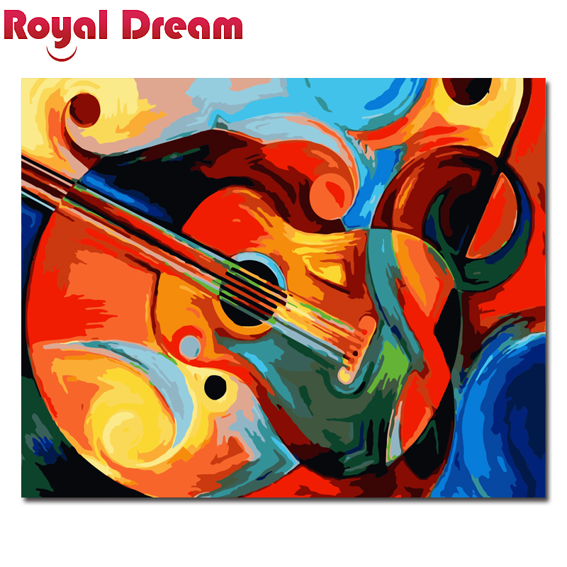Abstract Painting Diy Digital Painting By Numbers Wall Art Picture Acrylic Canvas Painting For Living Room in Painting Calligraphy from Home Garden