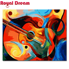 Abstract Painting Diy Digital By Numbers Wall Art Picture Acrylic Canvas For Living Room