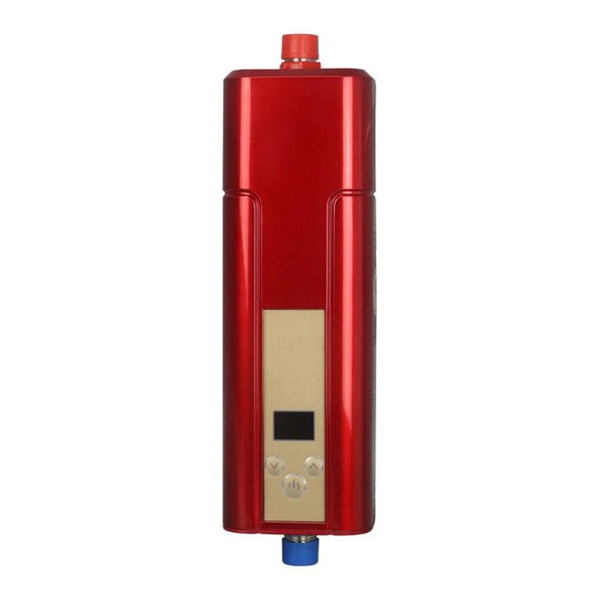 2100-5500 Вт Мгновенное ВОДОНАГРЕВАТЕЛЬ кран Электрический водонагреватель ABS, закаленное стекло Материал dsf42-c03 Электрический водонагреватель