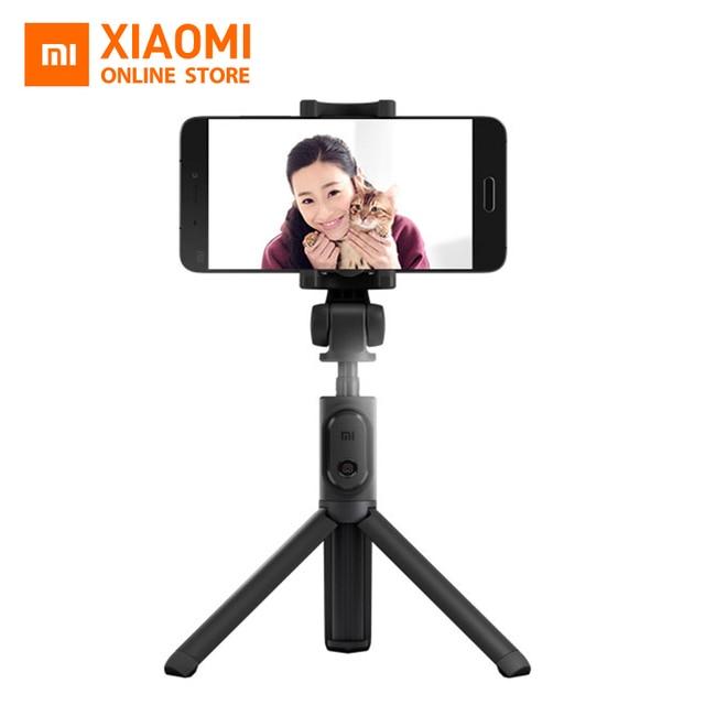 Original Xiaomi plegable portátil trípode Selfie Stick Monopod Selfiestick Bluetooth con disparador inalámbrico para Android y iPhone