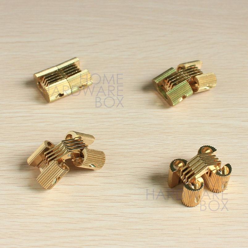 hidden box hinges. 4 Pcs Hidden Hinge Invisible Hinges Concealed Barrel Golden Brass 1\ Box