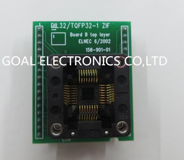 bilder für Import DIL32/TQFP32-1 test TQFP32 ZIF DIP32 programmierung adapter