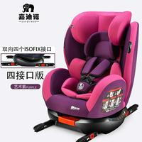 Children Car Safety Seat Newborn Baby Car Seat Safety Booster Seat Convertible Install ISOFIX Latch Five Point Safety Harness