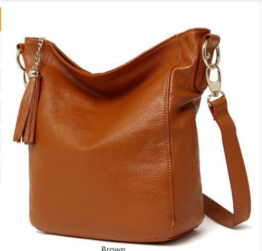 New arrival leather handbags fashion shoulder bag genuine leather cross body bags brand women messenger bags new arrival 2016 fashion women handbags messenger bag for woman brand design genuine leather shoulder bags evening party bags