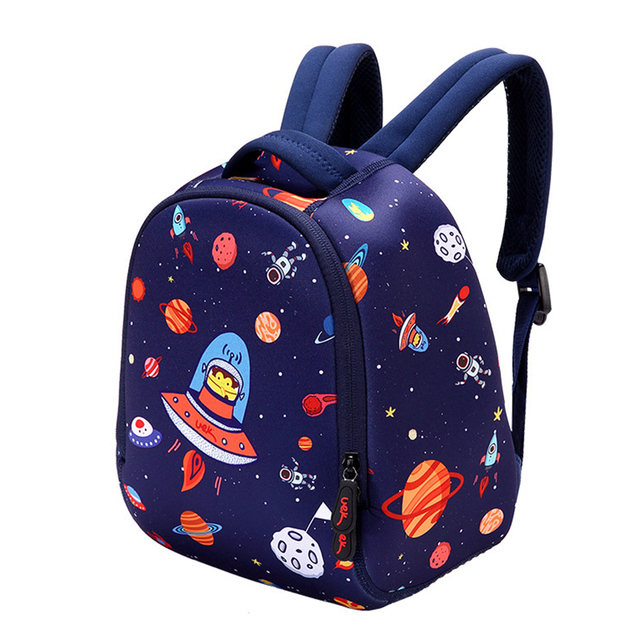 New Fashion Cartoon Waterproof Backpack for Girls Boys Cool Animals Kids Schoolbag for Teenager Printing Backpack