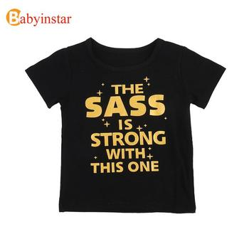 Babyinstar Children T Shirts For Girls Costume Happy Birthday Girls Tops Kids Clothing Boy T Shirt Brand Thanksgiving Shirt Girl 3