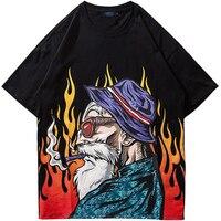 Harajuku Man plus size T Shirts 9XL 8XL 7XL 6XL cotton Harajuku hip hop t shirt short sleeve Summer Mens streetwear Tees