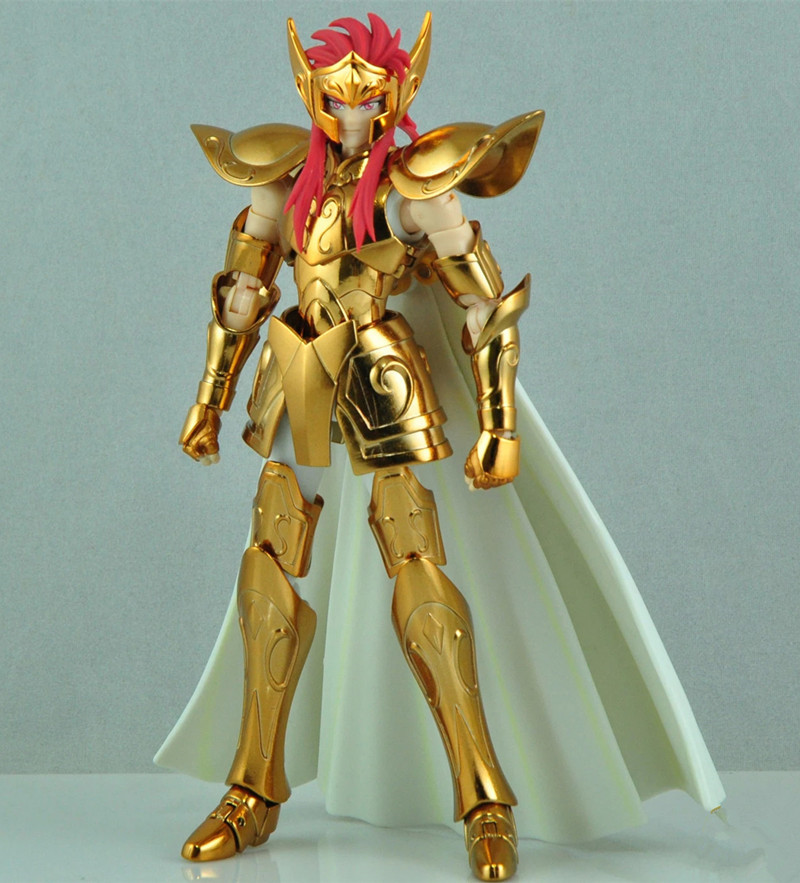 MC Metal Club <font><b>Saint</b></font> <font><b>Seiya</b></font> <font><b>Cloth</b></font> <font><b>Myth</b></font> EX Gold <font><b>Aquarius</b></font> Camus model metal <font><b>cloth</b></font> OCE edition image