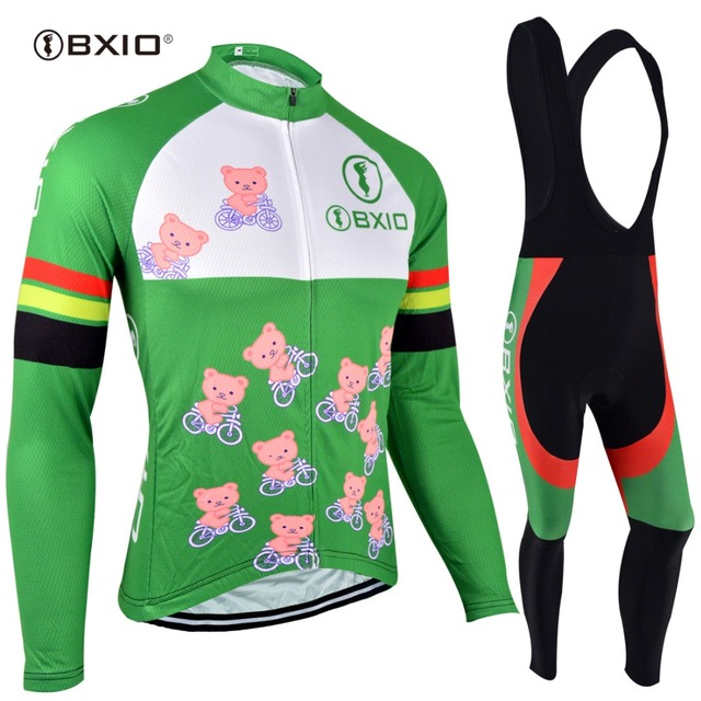 BXIO Ropa Ciclismo Mtb Cycling Jersey Long Sleeves Women Mountain Bike  Sportswear Maillot Cycling Sets Clothing e3100ef20