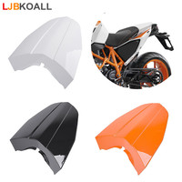 New Motorcycle ABS Plastic Rear Pillion Solo Tail Seat Cowl Cover Fairing For 2013 2014 2015 KTM 690 Duke Orange White Black