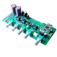 K GuSS TI 5532 HIFI tone board front board with subwoofer audio output audio amplifier board