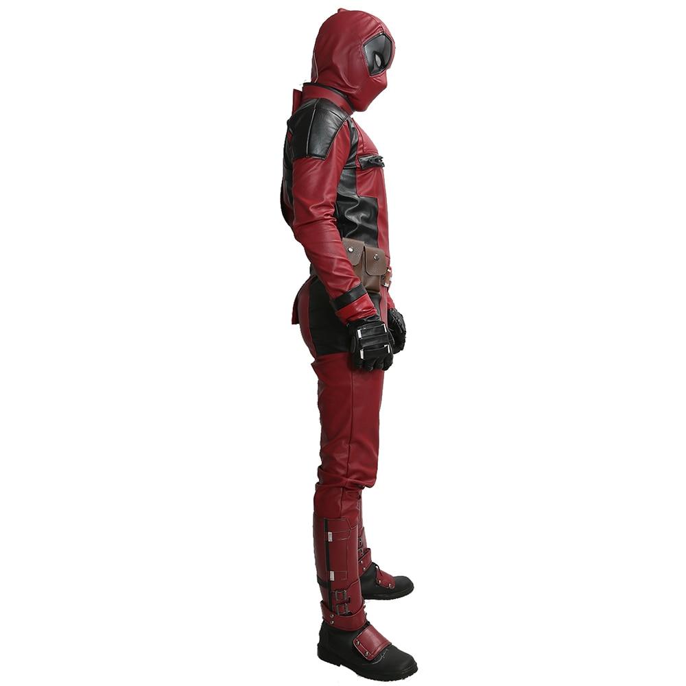 2017 New Deadpool traje película Cosplay traje para Halloween con ...
