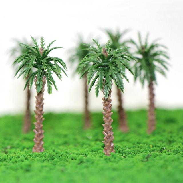 YS02 20pcs 45mm-170mm Height Model Palm Trees Model Layout Train Scale 1:400-1:50 Z HO Scale NEW 3
