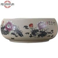 Chinese Style Tea Ceremony Ceramic Coarse Pottery Kung Fu Tea Set Tea Sea Tea Wash Bowl