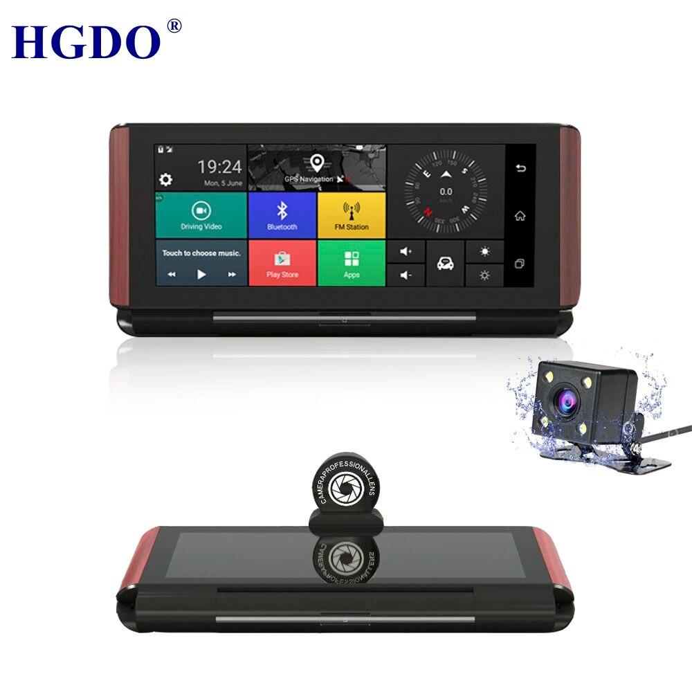 HGDO 3G/4G Car Camera GPS 7