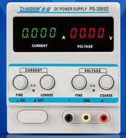 Llegada rápida ZHAOXIN PS 3005D 0 30 V/0 5A 0 01 V/0.001A interruptor de pantalla LED fuente de alimentación CC Variable 220V 4Ps|dc display|dc dc display|dc led -