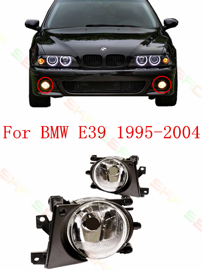 car styling fog lights  For bmw e39  525/530/535/520/540 i/d/tds/td  1995/96/97/98/99/2000/01/02/03/04