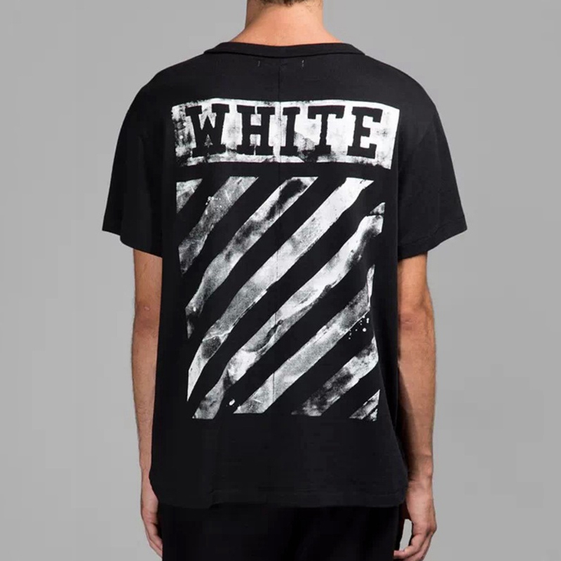 Off White CO Virgil Abloh Kanye West HBA Mens Fashion t Shirt Men ...